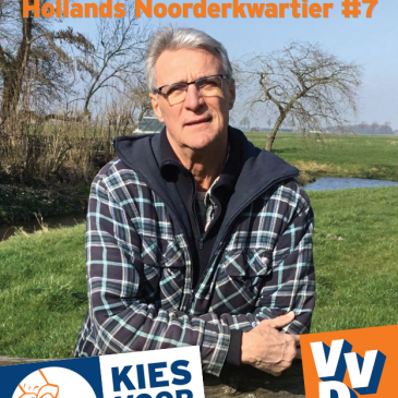 Cees Stins is de Westfriese waterschap kandidaat