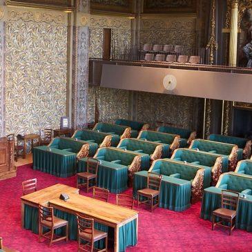 Uitje naar de Eerste Kamer in Den Haag