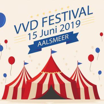 VVD-festival voorjaar op 15 juni in Aalsmeer