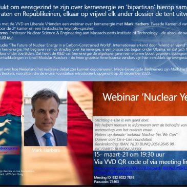 Webinar 'Kernenergie. Yes we can!'